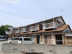 三重県松阪市荒木町の賃貸アパートの外観