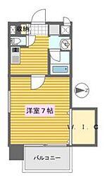 ファサード南栄[6階]の間取り