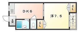 チェリーコートI・II[2階]の間取り