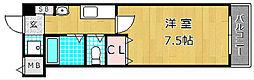 M'PLAZA津田駅前十二番館[2階]の間取り