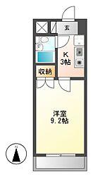 アーバンホーム2[2階]の間取り
