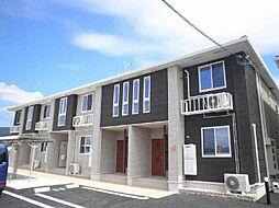 広島県東広島市西条町大沢の賃貸アパートの外観
