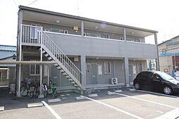 岡山県岡山市南区福富東2の賃貸アパートの外観