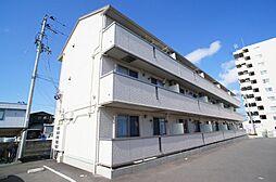 青森県八戸市大字上徒士町の賃貸アパートの外観