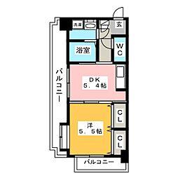 FORT-S[3階]の間取り