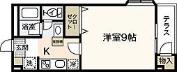 広島県広島市安佐南区長束西3丁目の賃貸アパートの間取り