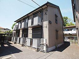 埼玉県川越市末広町3丁目の賃貸アパートの外観