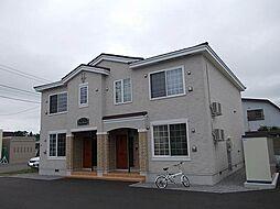 北海道滝川市緑町6丁目の賃貸アパートの外観