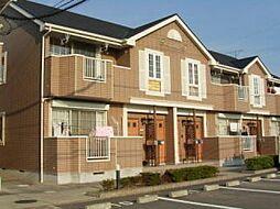 徳島県板野郡藍住町徳命字元村東の賃貸アパートの外観