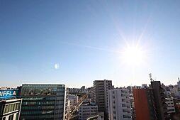 バルコニーからの眺望です。