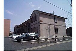 京都府京都市右京区嵯峨野有栖川町の賃貸アパートの外観