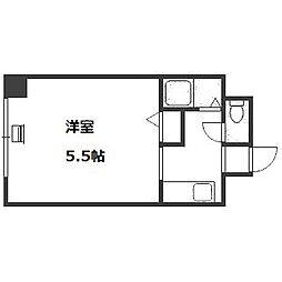 エルム桑園[4階]の間取り