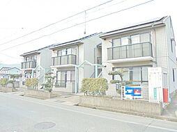 広島県福山市新涯町1の賃貸アパートの外観