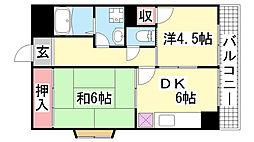 平成マンション[4階]の間取り