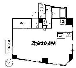 WHITE138[201号室]の間取り