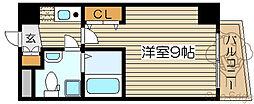 プラ・ディオ天満セレニテ[5階]の間取り