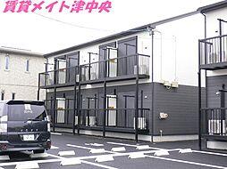 三重県津市久居野村町の賃貸アパートの外観