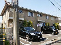 東京都三鷹市北野3の賃貸アパートの外観