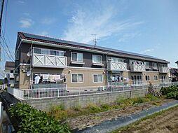 岡山県倉敷市福島の賃貸アパートの外観