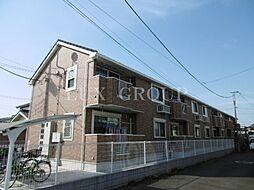 東京都八王子市上壱分方町の賃貸アパートの外観