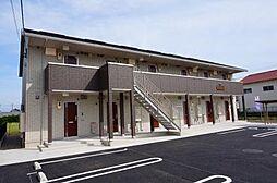 愛知県西尾市川口町平池の賃貸アパートの外観