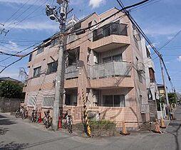 京都府京都市右京区太秦堀ケ内町の賃貸アパートの外観