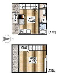 デザイナーズ メゾン ユー[1階]の間取り