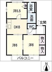 COZYコート[2階]の間取り