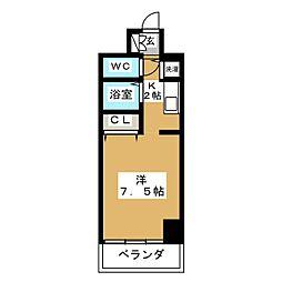 IZM36[6階]の間取り