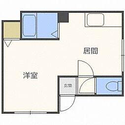 ビアンカマンション[1階]の間取り