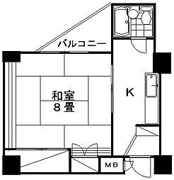 万代ホームズ[6階]の間取り