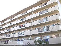 箕面セントラルハイツ[3階]の外観