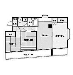 センチュリーKIビル[5階]の間取り