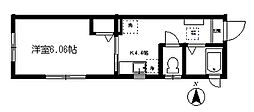 BRILLIANT AKITSU[1階]の間取り