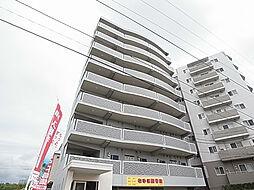 千葉県松戸市秋山の賃貸マンションの外観