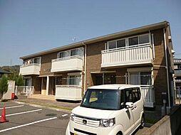 徳島県徳島市八万町上福万の賃貸アパートの外観