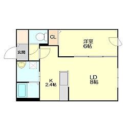 Maison de K[102号室]の間取り
