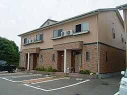 福岡県糸島市篠原西2丁目の賃貸アパートの外観