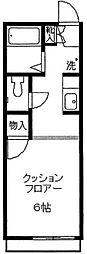 コモハウス2[205号室]の間取り