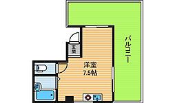 エヌケイビル[6階]の間取り