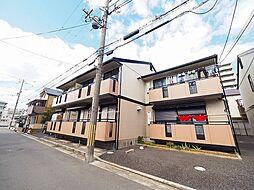 兵庫県尼崎市立花町3丁目の賃貸アパートの外観