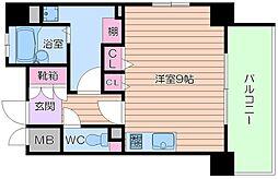 レジェンドール大阪天満 G-レジデンス[4階]の間取り