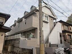京都府京都市山科区小山谷田町の賃貸アパートの外観