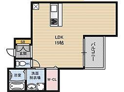 River Place UMEDAKITA[9階]の間取り