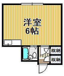 ABA西九条[3階]の間取り