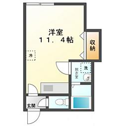 M3[1階]の間取り