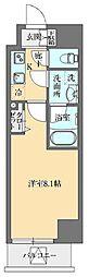 東京メトロ丸ノ内線 御茶ノ水駅 徒歩11分の賃貸マンション 10階1Kの間取り