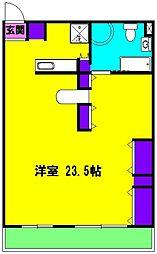 静岡県浜松市中区幸3丁目の賃貸マンションの間取り