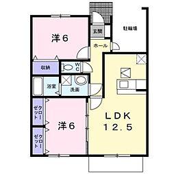 Gradit Place[1階]の間取り
