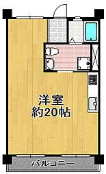 川忠ビル[2階]の間取り